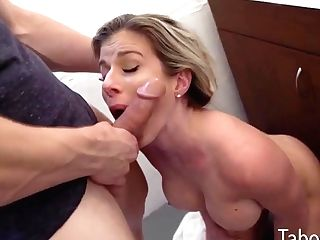 Step Mom Cory Chase Is Fucked Hard In Bathroom