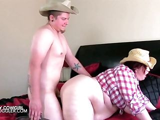 Meaty Tits And Belly Cowgirl Rails Her Rodeo Starlet