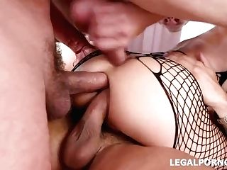 Insatiable Cougar, Lyna Cypher Is Having A Hot Backdoor Sex Session With A Group Of Horny Guys