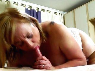 Big Titted Auntie Trisha Loves Sucking Man-meat - Maturenl