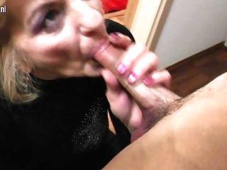 Horny Matures Lady Doing Her Toyboy - Maturenl