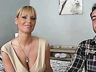 Horny Mommy Shelia Grant Turns A Hot Fellow On With Her Big Tits
