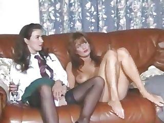 Girl/girl Vida Garman Plays With Her Lady Friends