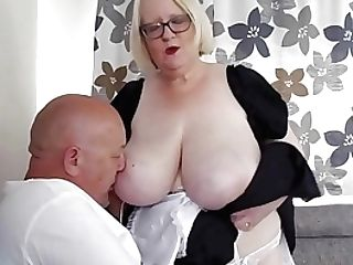 Maid Sally Makes Her Manager Very Blessed