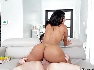 Preston Parker & Rose Monroe In Rose Monroe's Magnificent Assets - Bangbros