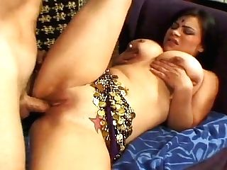 Big Jugged Indian Skank Gets Fucked In Missionary Position
