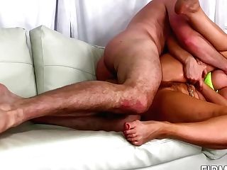 Mummy With Large Tits Rails Fat Dick