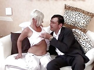 German Big Tit Mummy Entice To Fuck By Stranger