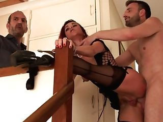 Clitpierced Uk Sub Pounded In Rump Toughly