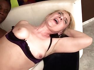 74 Years Old Mom Likes Her Very First Black Dick