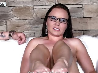Hot Czech Mummy Wendy Moon Is Fucking One Inexperienced Fellow In Front Of Cameras