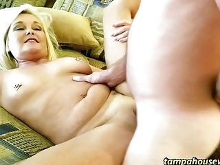 Finger Fucking Her Cunt Gets It Ready To Fuck